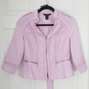 White House Black Market lavender jacket